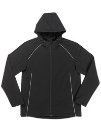 3HSJ Soft Shell Hooded Jacket - Adult