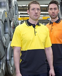 6CPHV JB's Hi Vis Cotton Polo - Short Sleeve