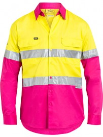 BS6696T 3M Taped Cool Hi Vis Lightweight Shirt