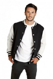 F906HO Mens Varsity Jacket (new)