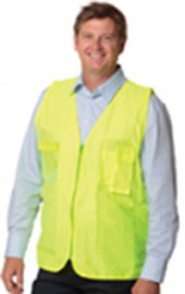 SW41 High Visibility Safety Vest with ID Pocket