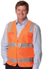SW42 High Visibility Safety Vest with ID Pocket & 3M Tape
