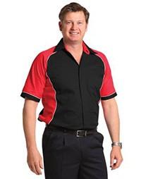 BS15 Men's Arena Tri-colour Contrast Shirt