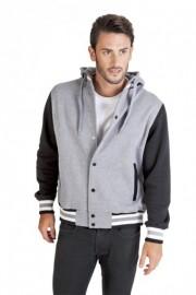 F907HB Men's Varsity Jacket & Hood
