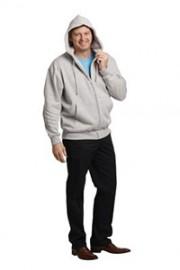FL03 Men's Full-zip Fleecy Hoodie