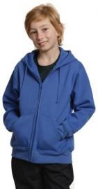 FL03K Kids' Full-zip Fleecy Hoodie