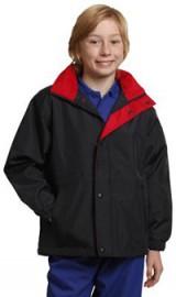 JK01K Kids' Stadium Outerwear Contrat Jacket