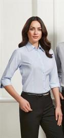 LB2625 Ladies Boston 3/4 Sleeve Shirt