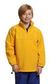 PF11 Kids' Half Zip Polar Fleece Pullover (unisex))