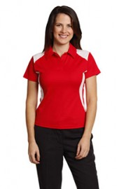 PS32A Ladies Winner Polo TrueDry Contrast Short Sleeve Polo