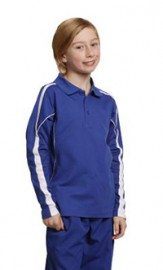PS69K Legend Plus KidsTrueDry Fashion Long  Sleeve Polo