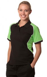 PS78- Arena Polo Ladies TrueDry Tri-colour Short Sleeve Pique Polo
