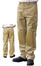 WP17 Men's Dura Wear Work Pants With Knee Pad Pocket_ Stout