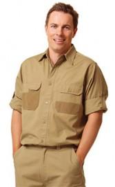 WT06 Men's Dura Wear Long Sleeve Work Shirt